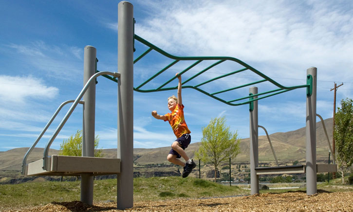 Playground Stand Alone Equipment