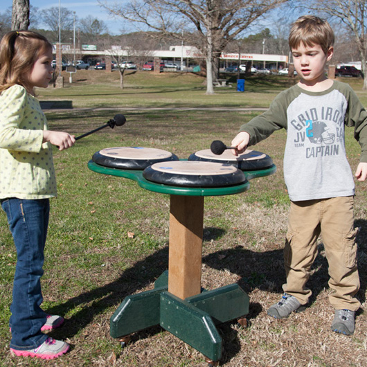 Triple Drum Table (portable)