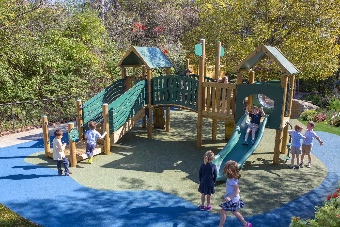 Outdoor Play Learning Environment