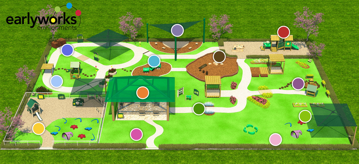 Interactive Play Environment Map